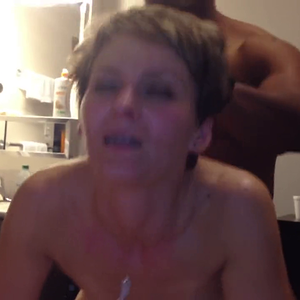 Cougar love getting fucked in the ass by BBC