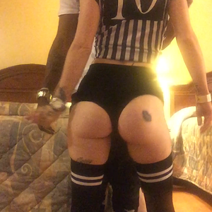 Halloween fun with my BBC daddy