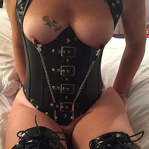 Nipples clamped and tight!