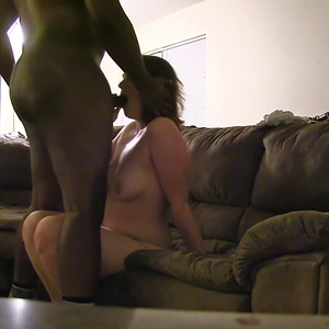 Horny wife from the club parking lot to the couch