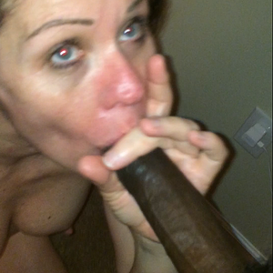 Milf sucking my dick