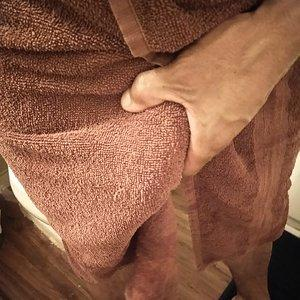 Huge curve hide towel