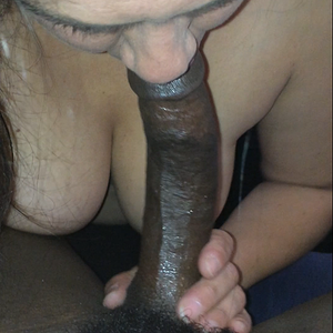 Bbc in her mouth