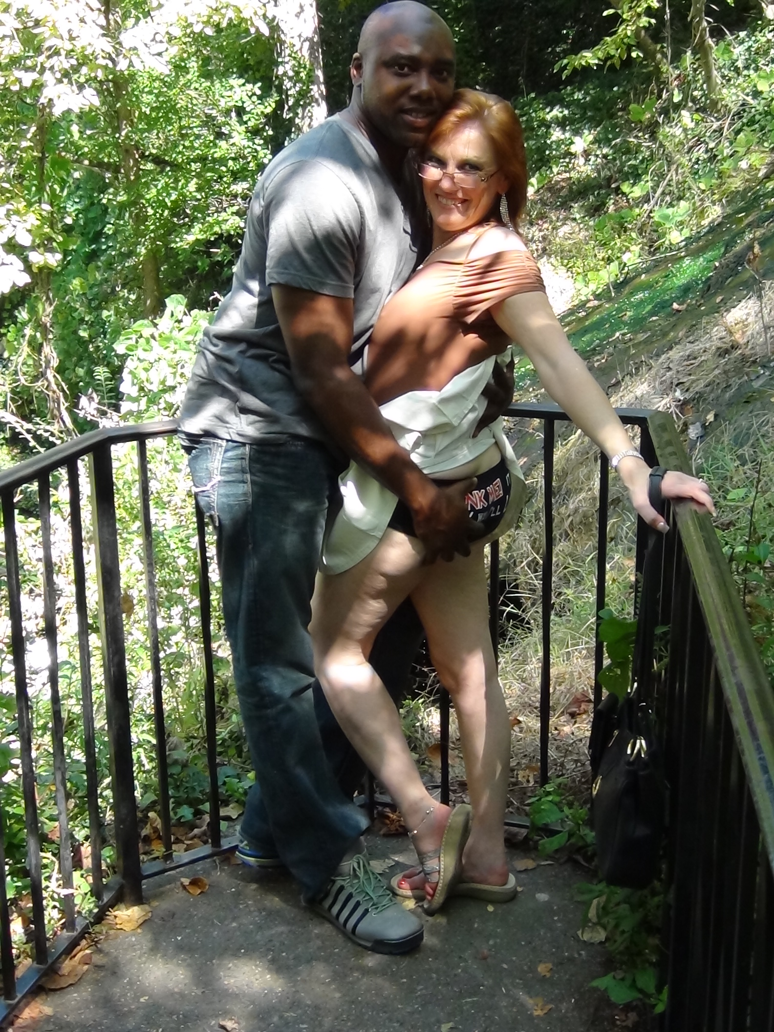 my mom with her lover | amateur interracial community - cuckold